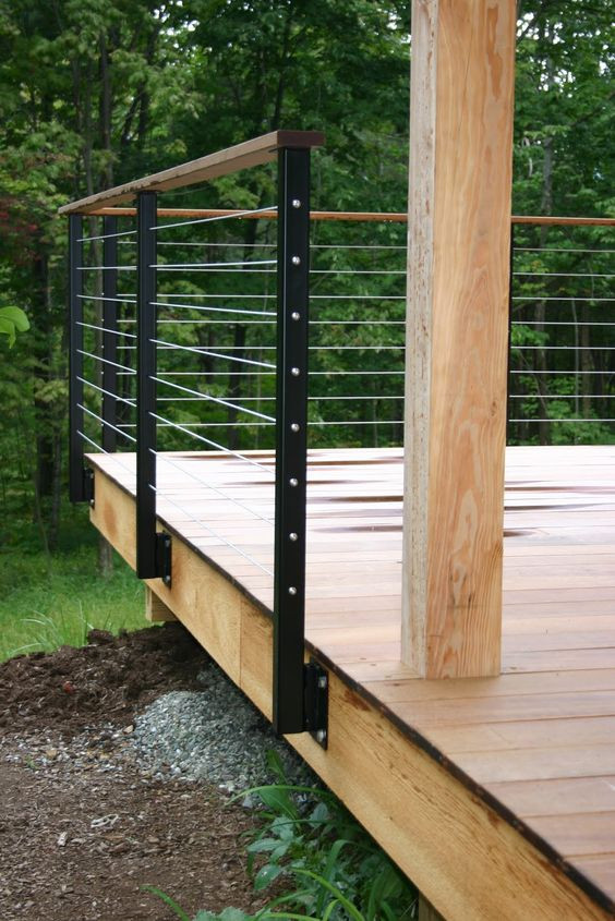 Best ideas about DIY Deck Railing Ideas . Save or Pin 32 DIY Deck Railing Ideas & Designs That Are Sure to Now.