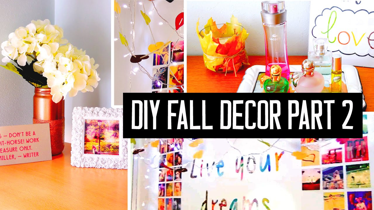 Best ideas about DIY Decorations For Your Room . Save or Pin DIY room decor for fall Spice up your room with cheap Now.