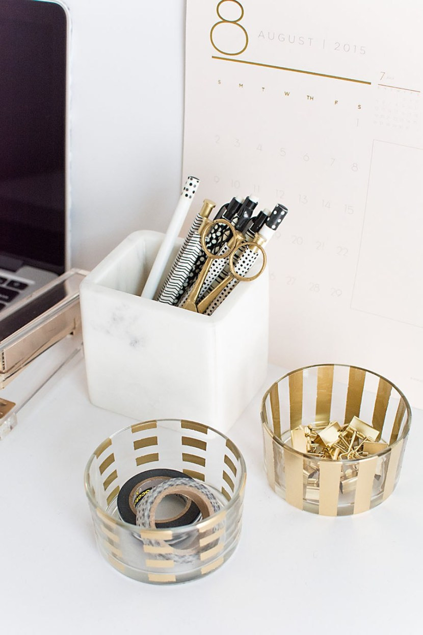 Best ideas about DIY Desk Accessories . Save or Pin DIY Desk Accessories Pottery Barn Now.