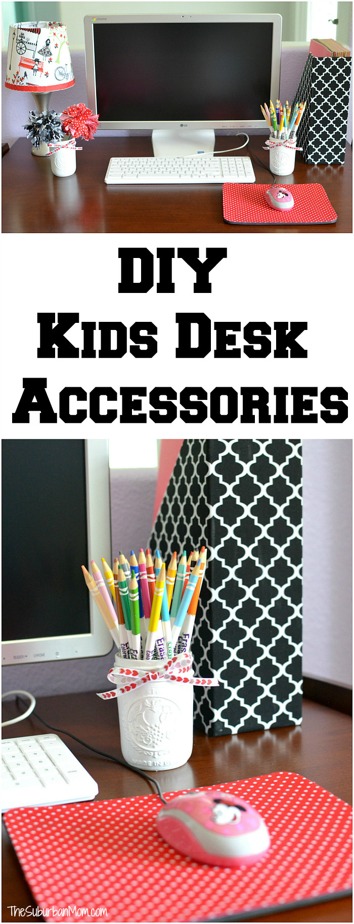 Best ideas about DIY Desk Accessories . Save or Pin DIY Kids Desk Accessories Back To School Now.