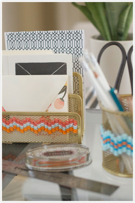Best ideas about DIY Desk Accessories . Save or Pin Friday Pinspiration The DIY fice Now.