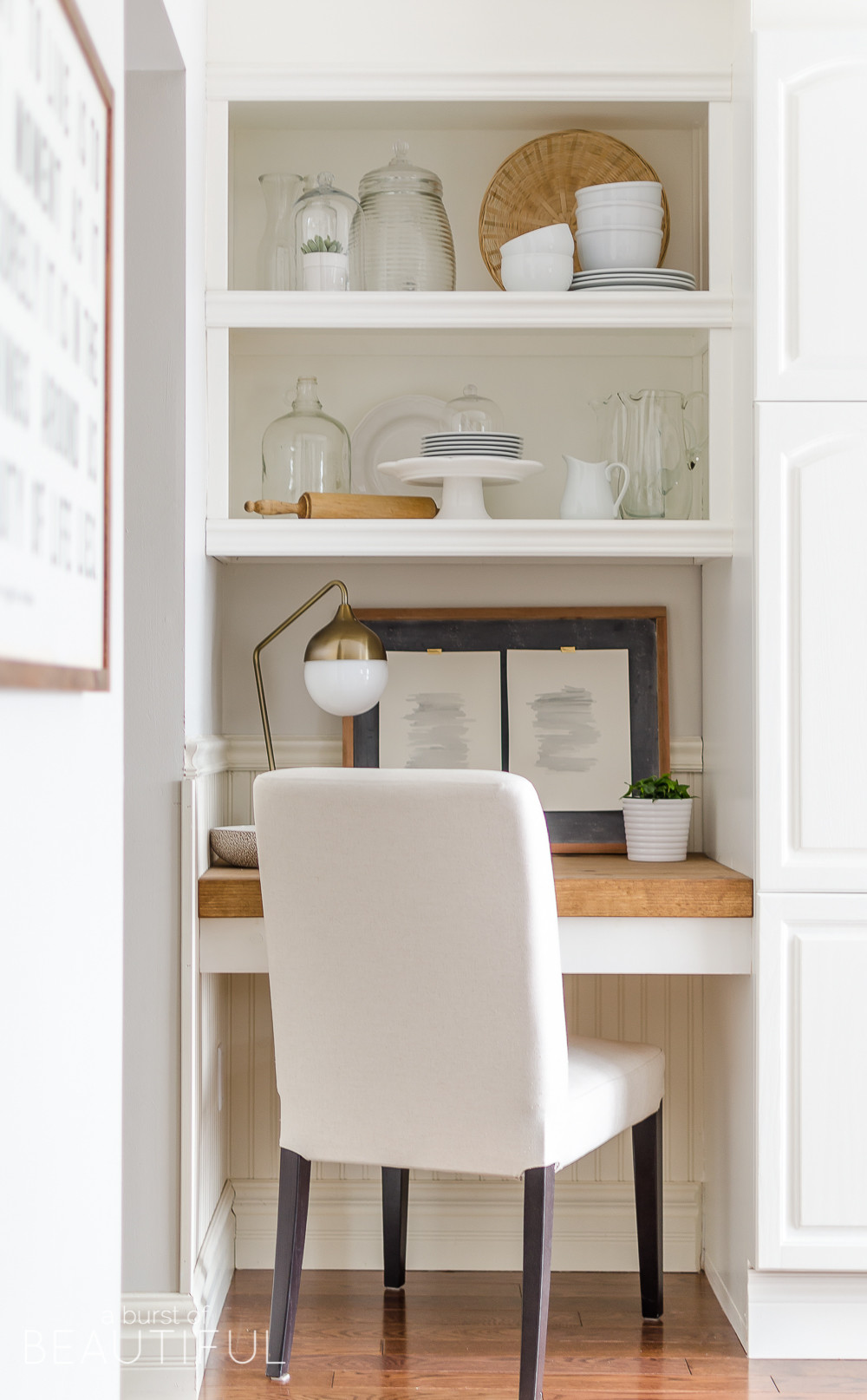 Best ideas about DIY Desk Shelf . Save or Pin DIY Floating Desk with Storage Now.