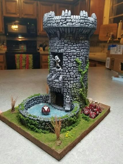 Best ideas about DIY Dice Tower . Save or Pin Now that s a dice tower Games Pinterest Now.