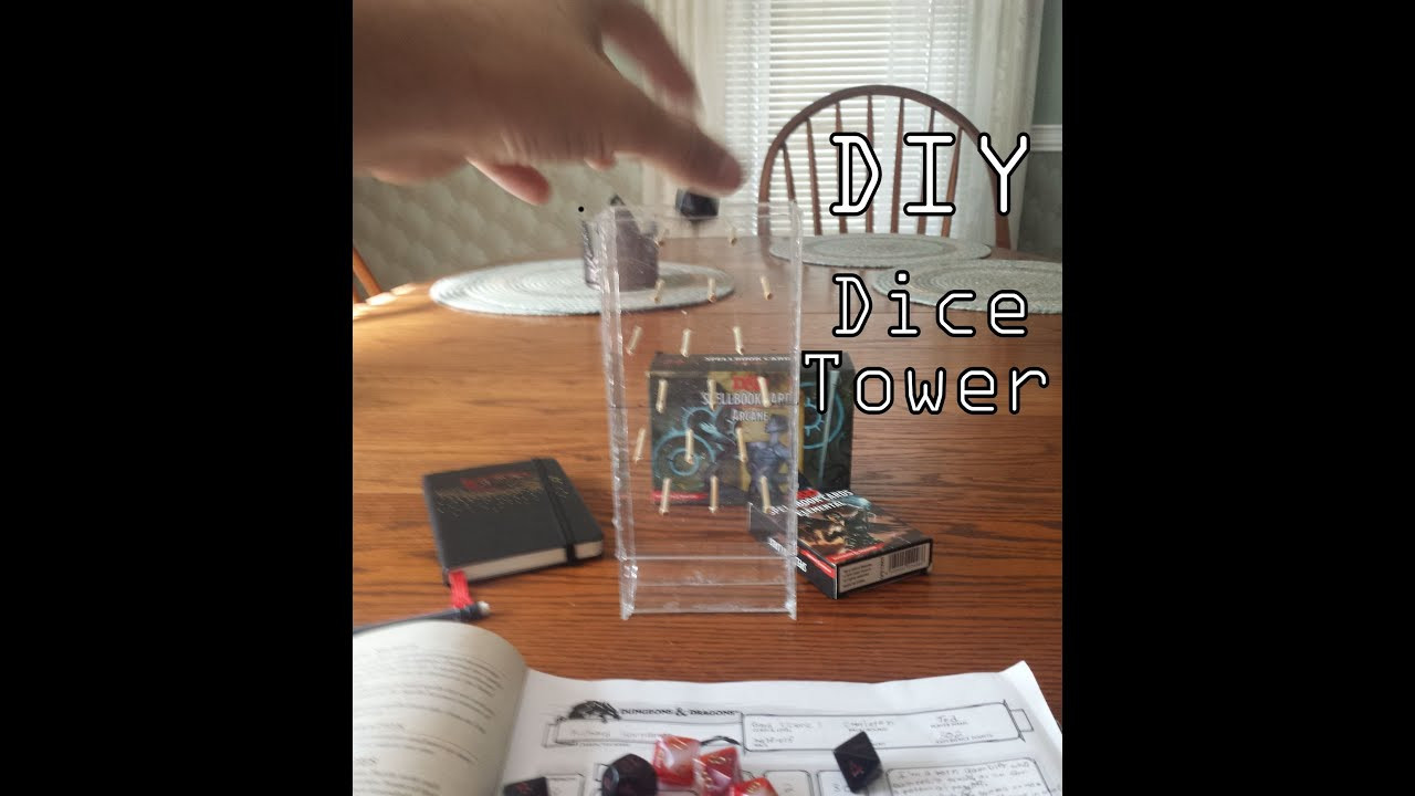 Best ideas about DIY Dice Tower . Save or Pin DIY Cheap Dice Tower Tutorial Plinko Style Now.
