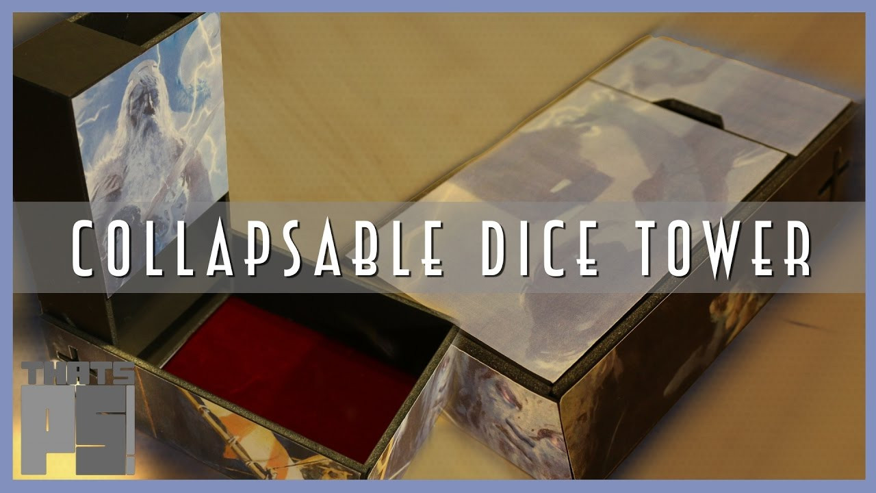 Best ideas about DIY Dice Tower . Save or Pin DIY Collapsable Dice Tower Now.