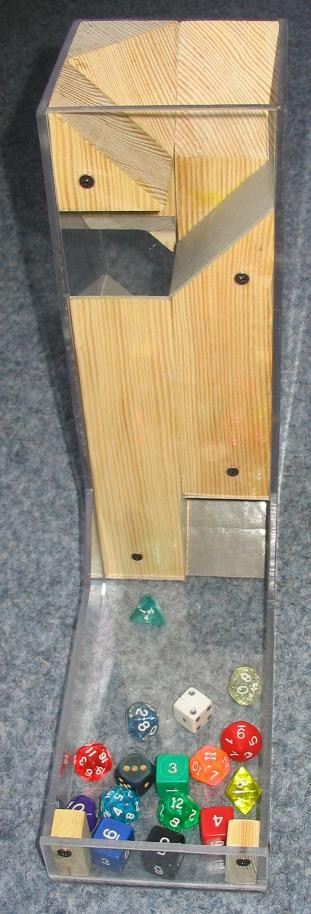 Best ideas about DIY Dice Tower . Save or Pin Blog & White DIY Dice Tower plete Now.