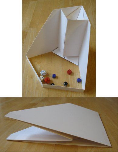 Best ideas about DIY Dice Tower . Save or Pin Paper Dice Tower BoardGameGeek Now.