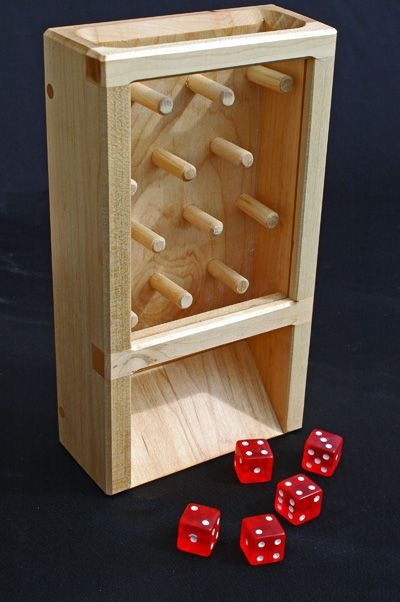 Best ideas about DIY Dice Tower . Save or Pin Dice Tower Plinko DIY Now.
