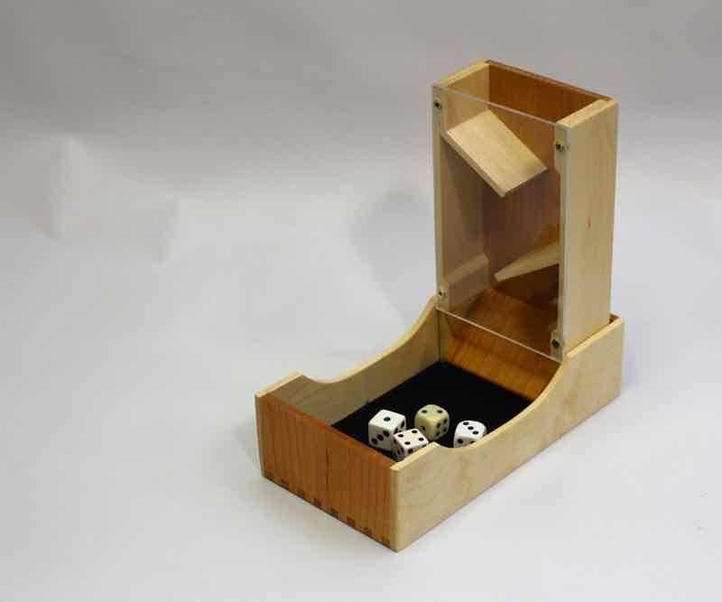 Best ideas about DIY Dice Tower . Save or Pin See Through Dice Tower instructables Now.