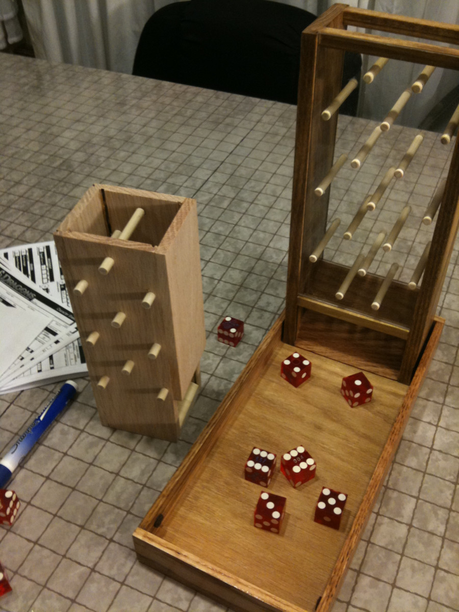 Best ideas about DIY Dice Tower . Save or Pin Mini Dice Tower Key Our Cars Now.