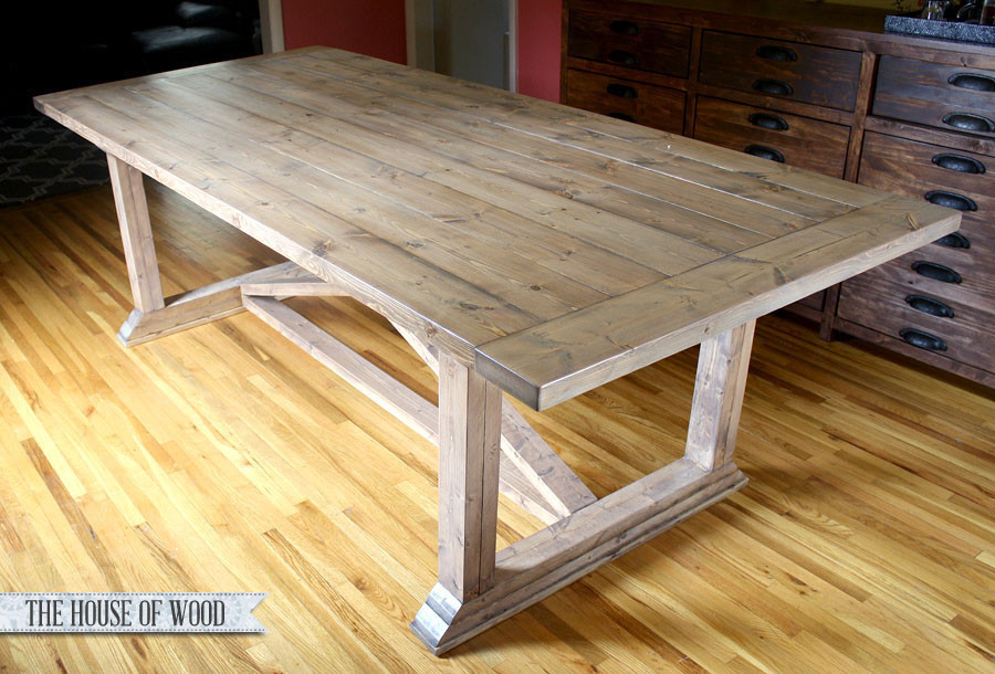 Best ideas about DIY Dining Room Table Plans . Save or Pin DIY Dining Table Restoration Hardware Finish Tutorial Now.