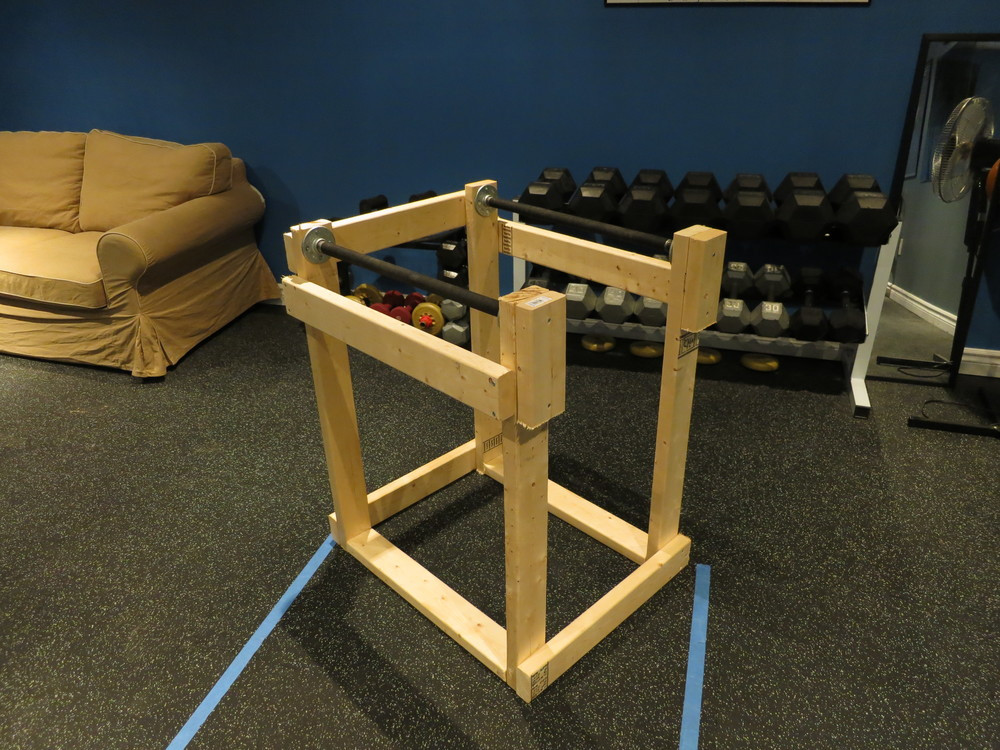 Best ideas about DIY Dip Station . Save or Pin Homemade Dip Station — Tyler Robbins Fitness Now.