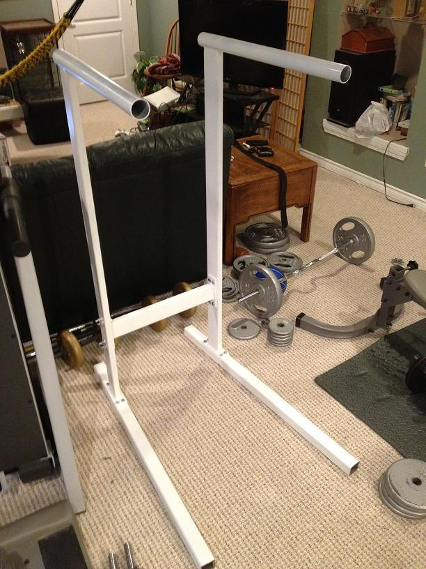 Best ideas about DIY Dip Station . Save or Pin Homemade Dip Station Bodybuilding Forums Now.