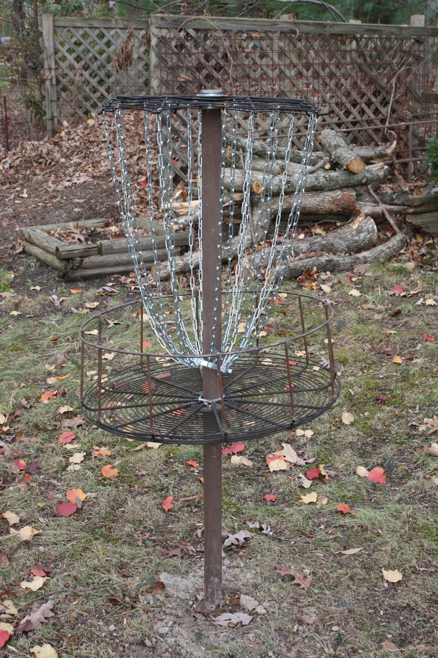 Best ideas about DIY Disc Golf Basket . Save or Pin MarkW Now.