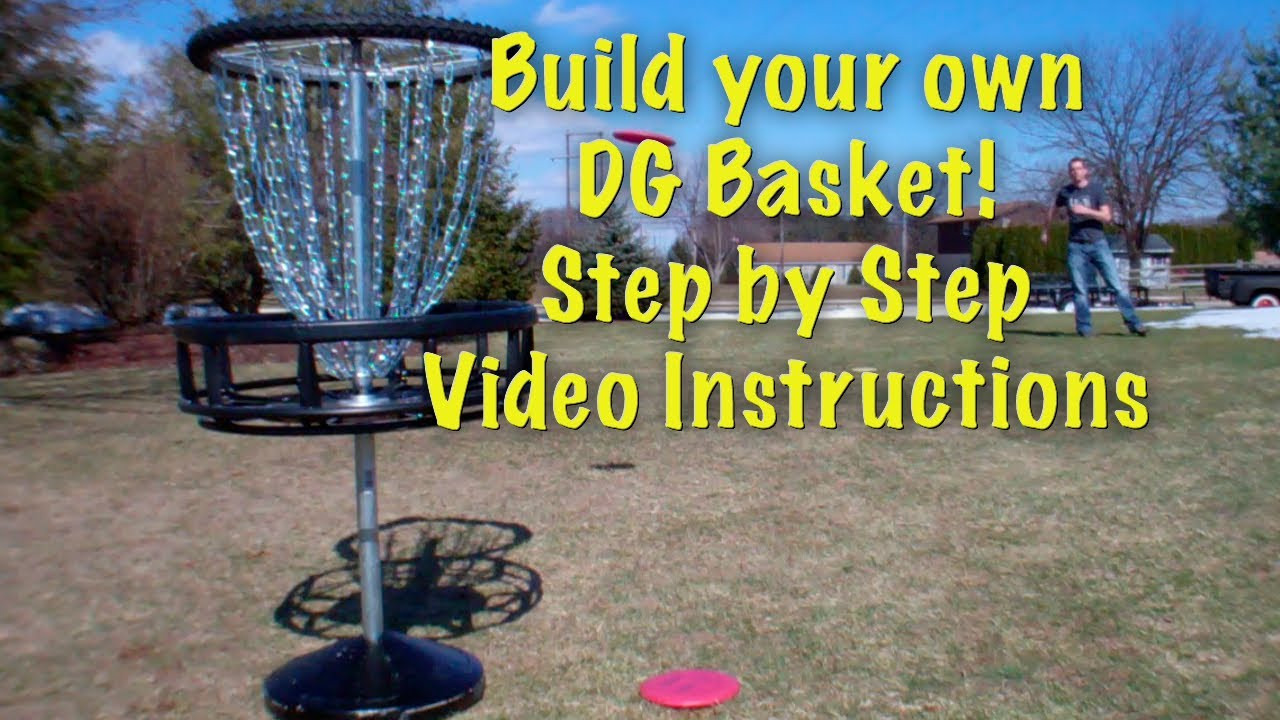 Best ideas about DIY Disc Golf Basket . Save or Pin How to Build a Disc Golf Basket Step by Step Video Now.