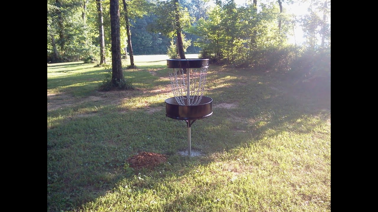 Best ideas about DIY Disc Golf Basket . Save or Pin DIY Disc Golf Basket 55 gal drum Now.
