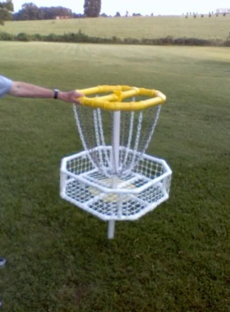 Best ideas about DIY Disc Golf Basket . Save or Pin Homemade Disc Golf Tar Disc Golf Course Review Now.