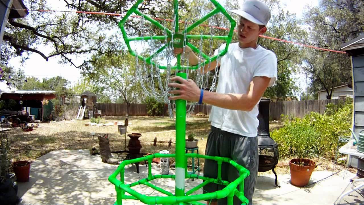 Best ideas about DIY Disc Golf Basket . Save or Pin Homemade DIY Disc Golf Practice Basket Now.