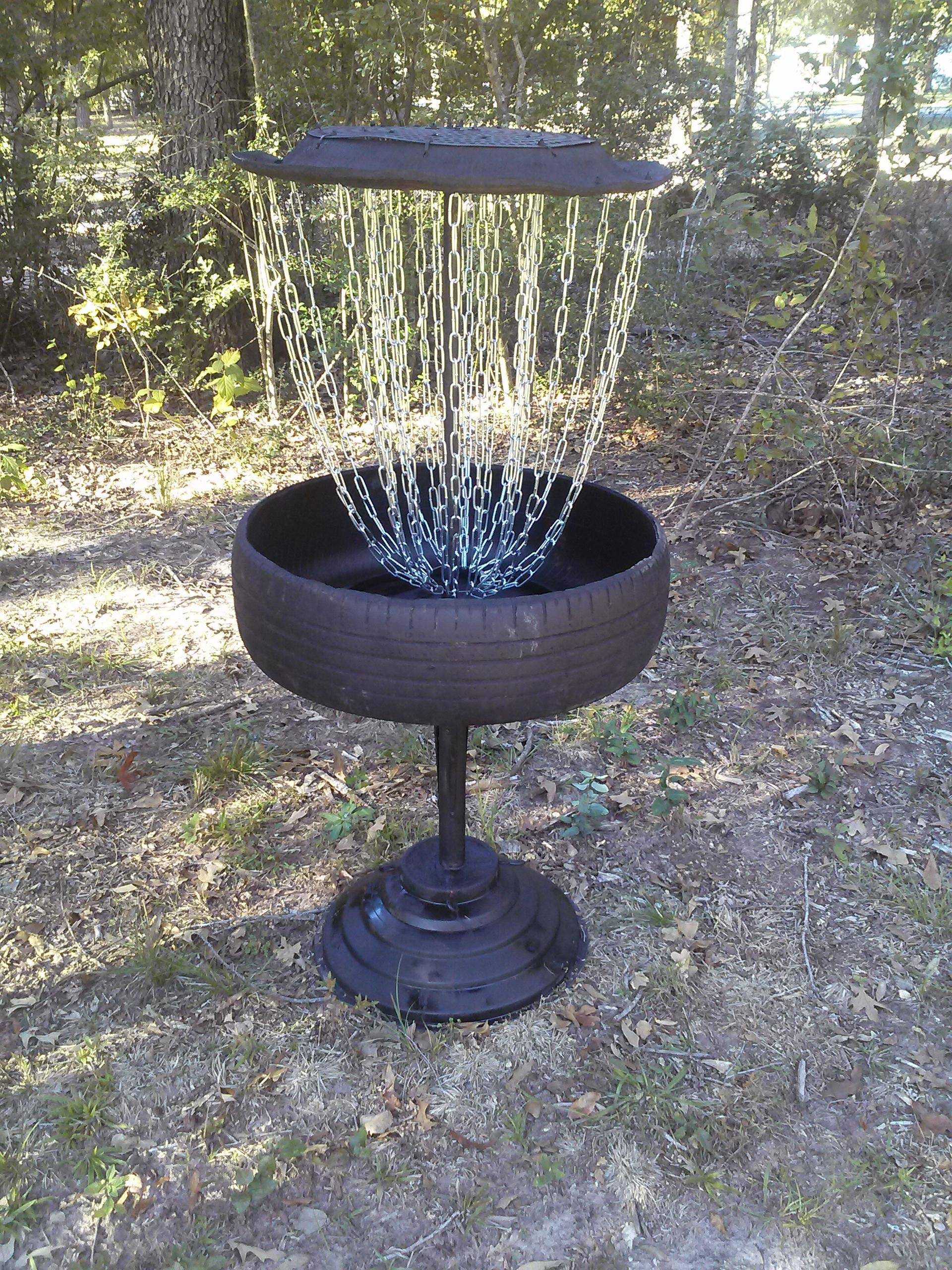 Best ideas about DIY Disc Golf Basket . Save or Pin homemade disc golf basket Album on Imgur Now.