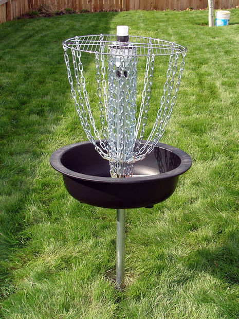Best ideas about DIY Disc Golf Basket . Save or Pin Hardware Disc Golf Basket Now.