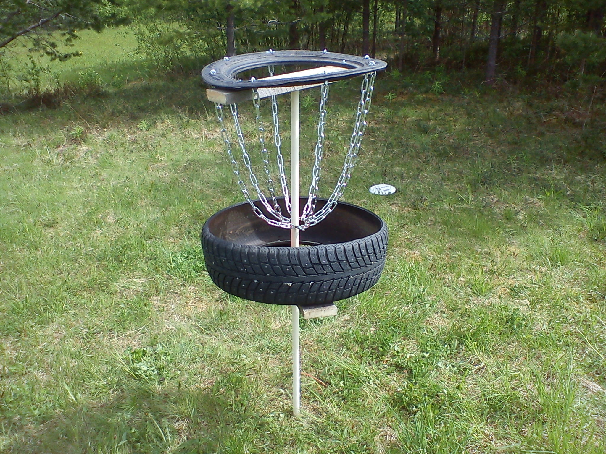 Best ideas about DIY Disc Golf Basket . Save or Pin Disc Golf Basket All Now.