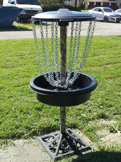Best ideas about DIY Disc Golf Baskets . Save or Pin Disc Golf Goal All Parts From Lowes Inexpensive 6 Steps Now.