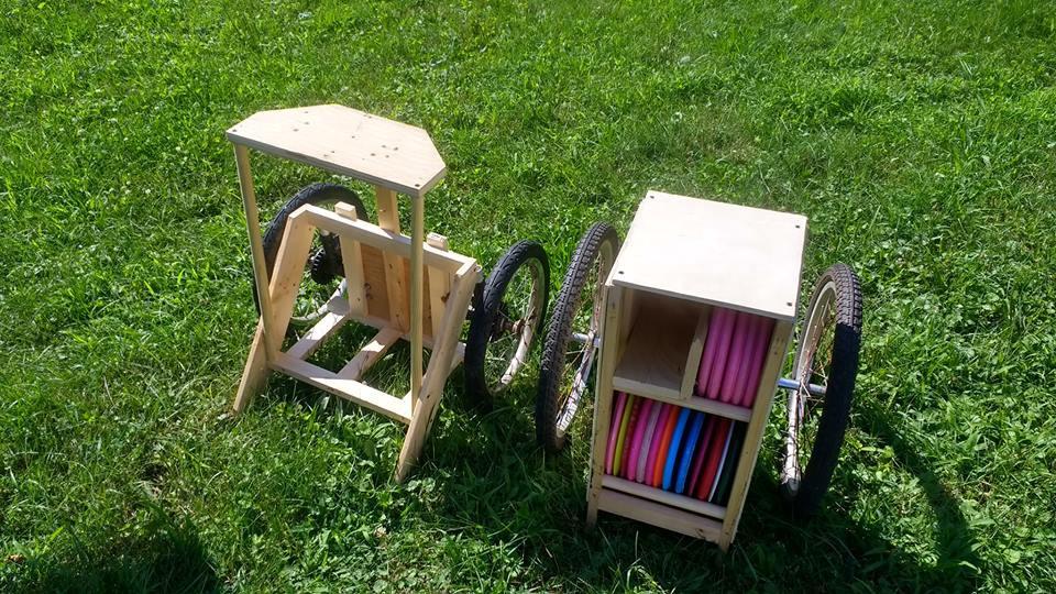 Best ideas about DIY Disc Golf Cart . Save or Pin DIY Disc golf Carts discgolf Now.