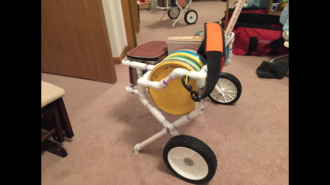 Best ideas about DIY Disc Golf Cart . Save or Pin Disc golf cart in the bag Now.