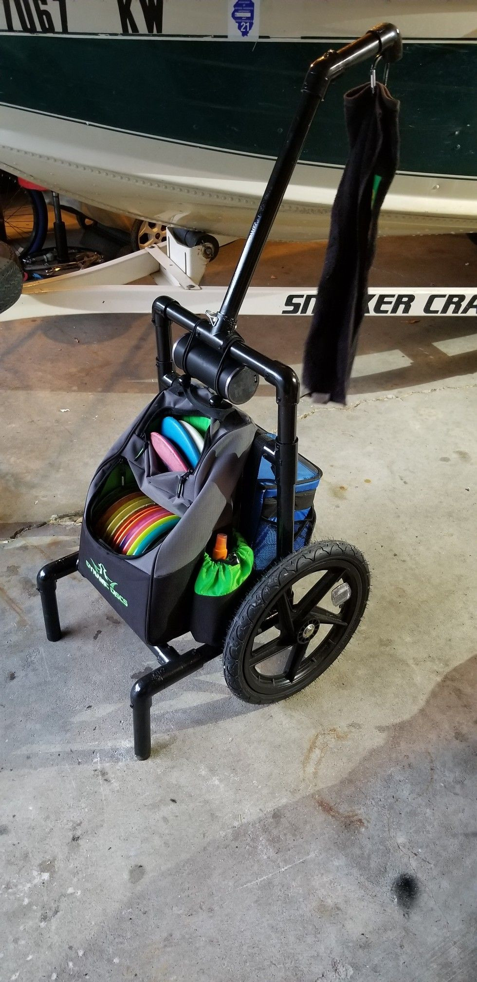 Best ideas about DIY Disc Golf Cart . Save or Pin All terrain disc golf cart DIY disc golf cart Now.