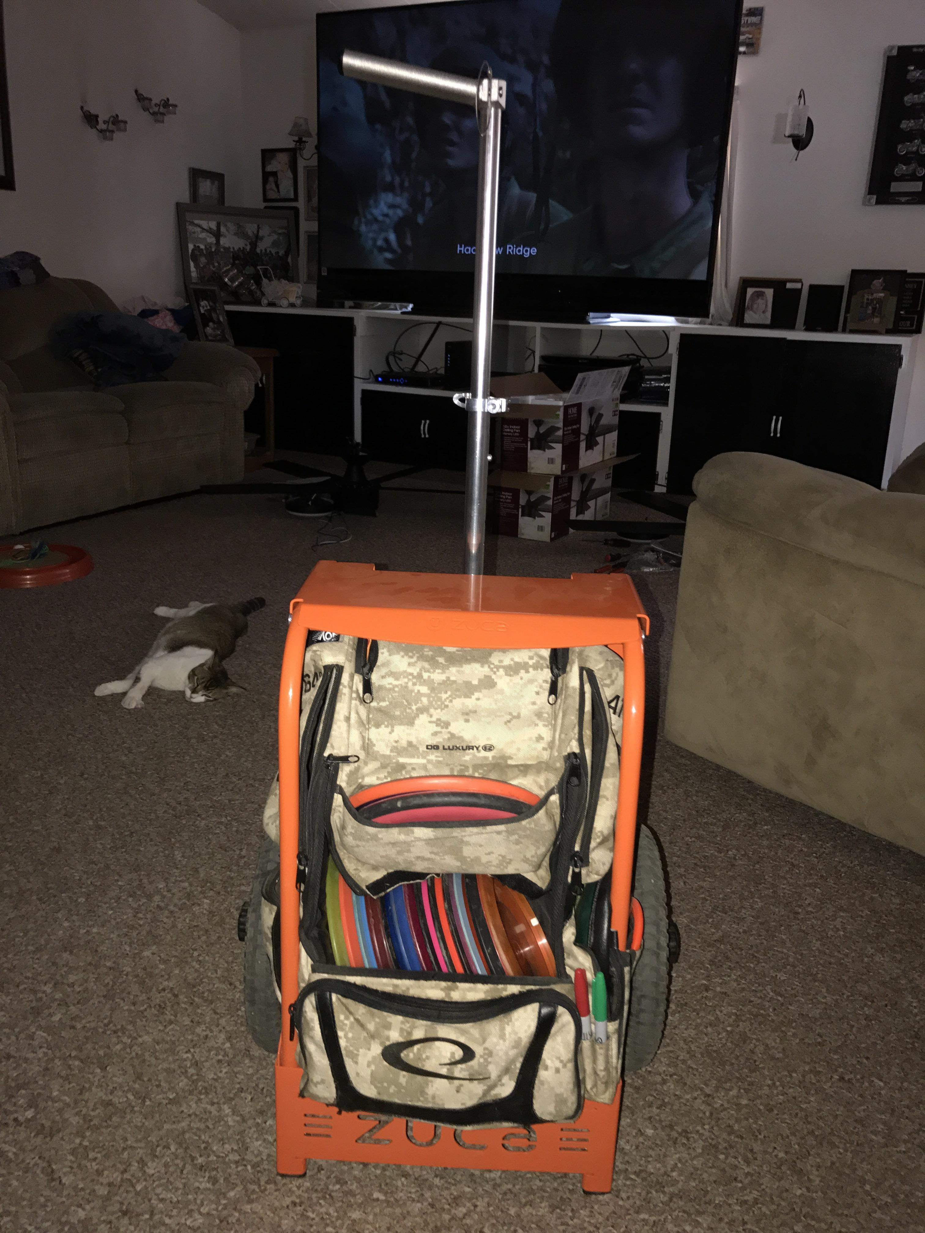 Best ideas about DIY Disc Golf Cart . Save or Pin Zuca cart newbie discgolf Now.