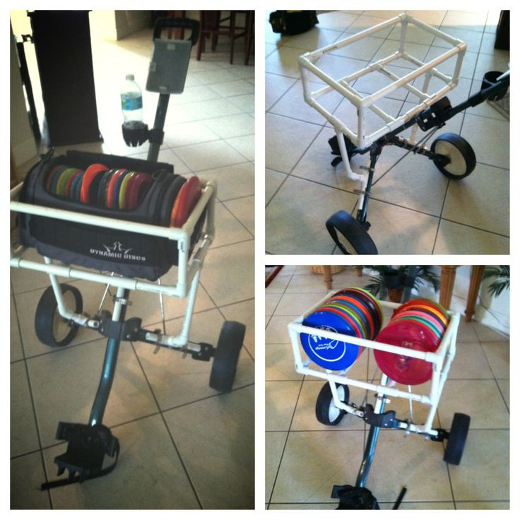 Best ideas about DIY Disc Golf Cart . Save or Pin Disc Golf cart Disc Golf Bags Now.