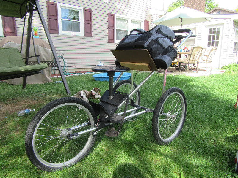 Best ideas about DIY Disc Golf Cart . Save or Pin Diy golf cart Disc Golf Course Review Now.