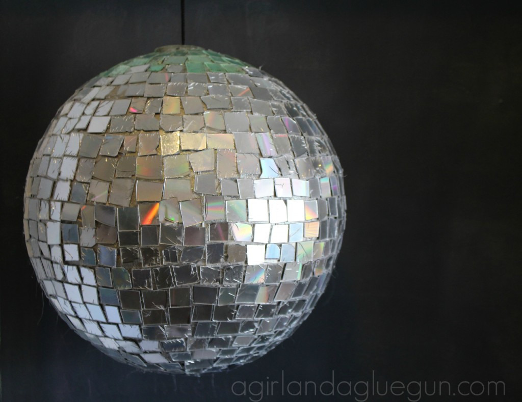 Best ideas about DIY Disco Balls . Save or Pin DIY Disco Ball By Girl with a Glue Gun Now.