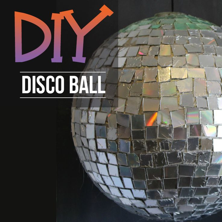 Best ideas about DIY Disco Balls . Save or Pin DIY Disco Ball Using Old CDs DIY Projects Now.