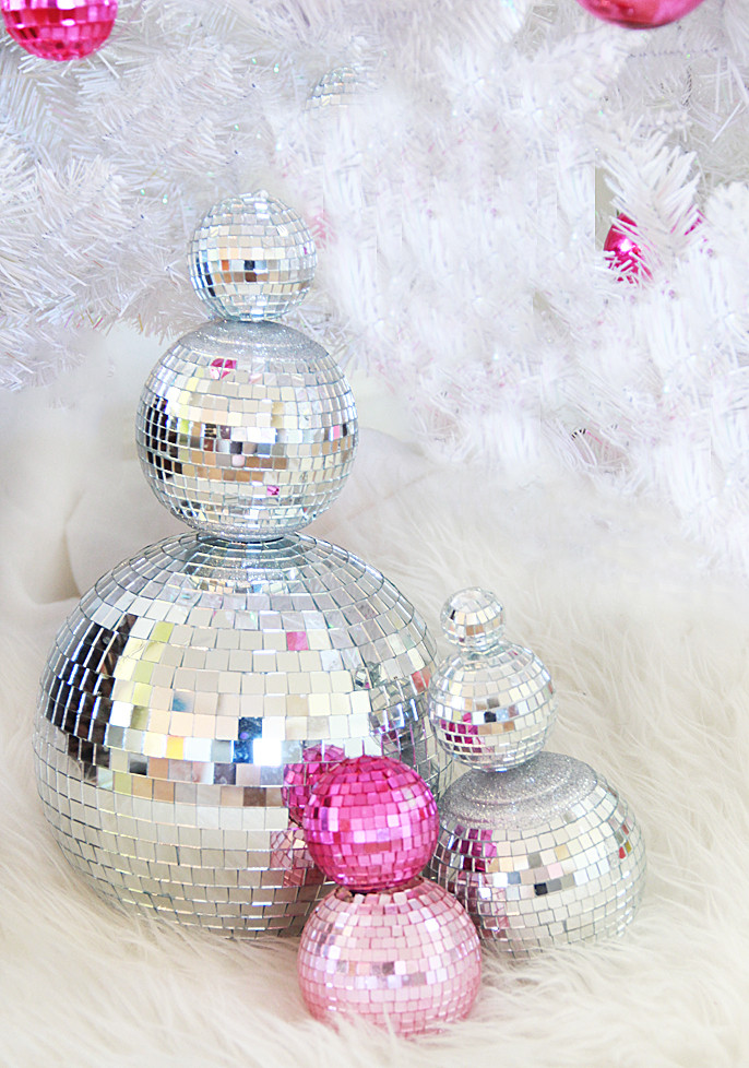 Best ideas about DIY Disco Balls . Save or Pin A Bubbly Life DIY Disco Ball Snowman Now.
