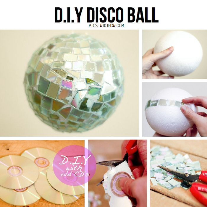 Best ideas about DIY Disco Balls . Save or Pin decoration disco a faire soi meme Now.