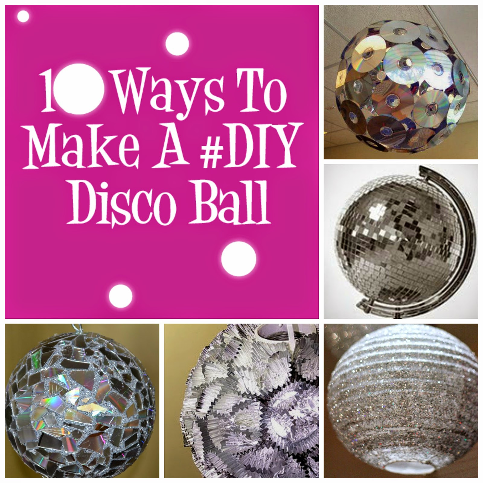 Best ideas about DIY Disco Balls . Save or Pin Whether it s New Years Eve or A Dance Party you can have a Now.