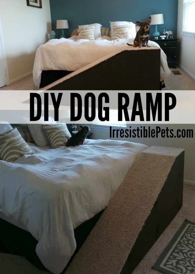 Best ideas about DIY Dog Stairs . Save or Pin DIY Dog Ramp Irresistible Pets Now.