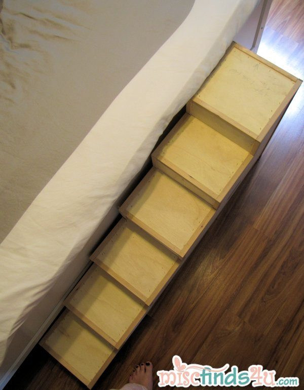 Best ideas about DIY Dog Stairs . Save or Pin DIY Pet Stairs Simple Steps You Can Make Yourself Now.