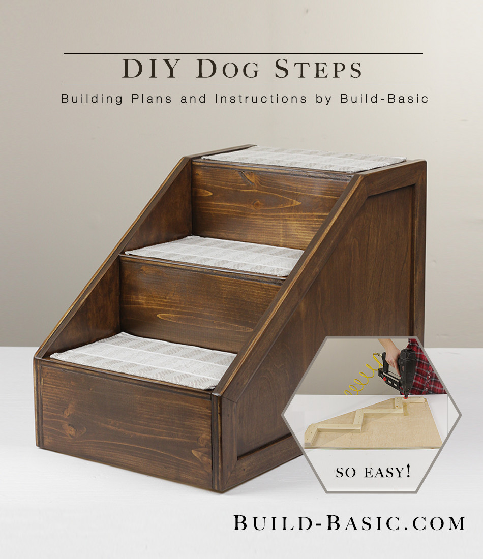 Best ideas about DIY Dog Stairs . Save or Pin Build DIY Pet Steps ‹ Build Basic Now.