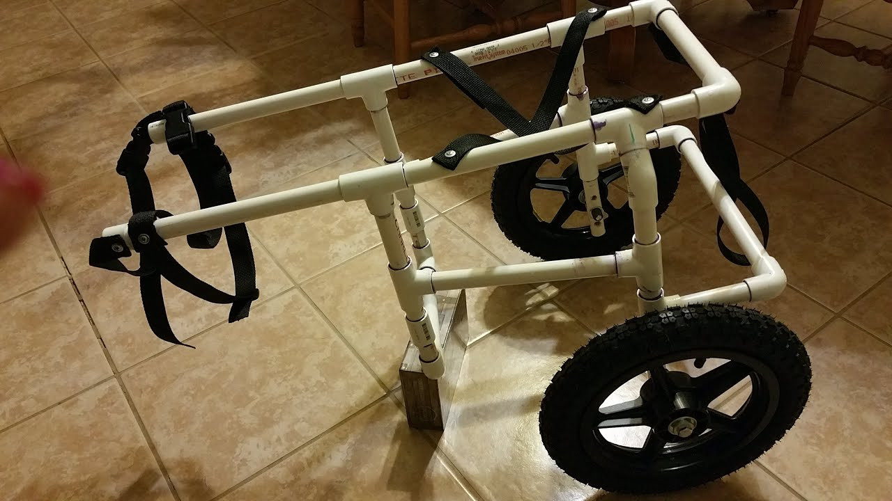 Best ideas about DIY Doggie Wheelchair . Save or Pin How To Build Your Own Doggie Wheelchair Part 1 Now.