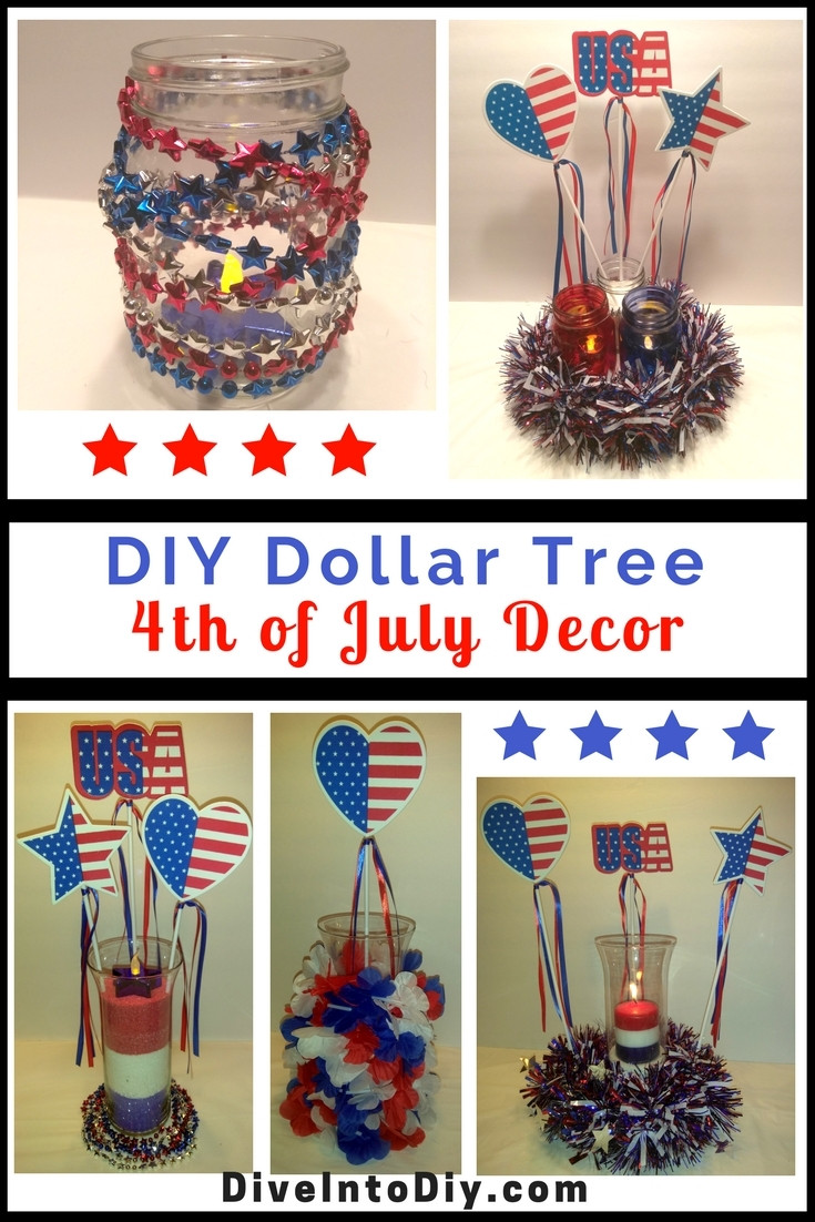 Best ideas about DIY Dollar Tree . Save or Pin DIY Dollar Tree 4th of July Decor Now.