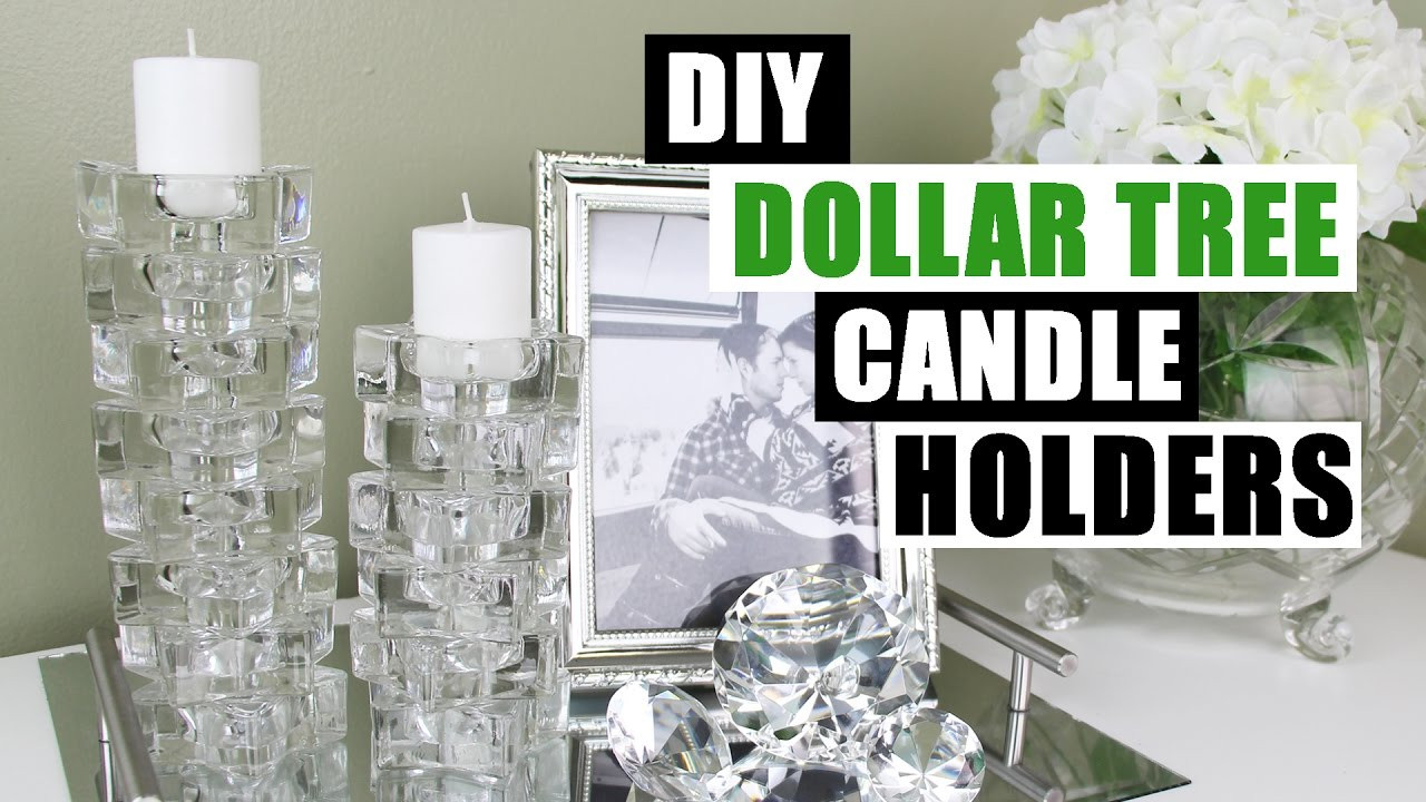 Best ideas about DIY Dollar Tree . Save or Pin DIY DOLLAR TREE CANDLE HOLDERS Now.