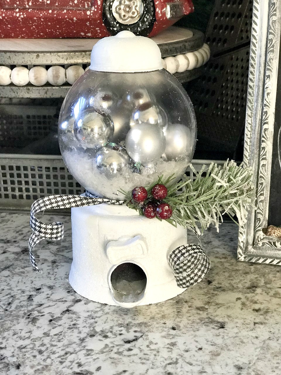Best ideas about DIY Dollar Tree . Save or Pin DIY Dollar Tree Snow Globe Re Fabbed Now.