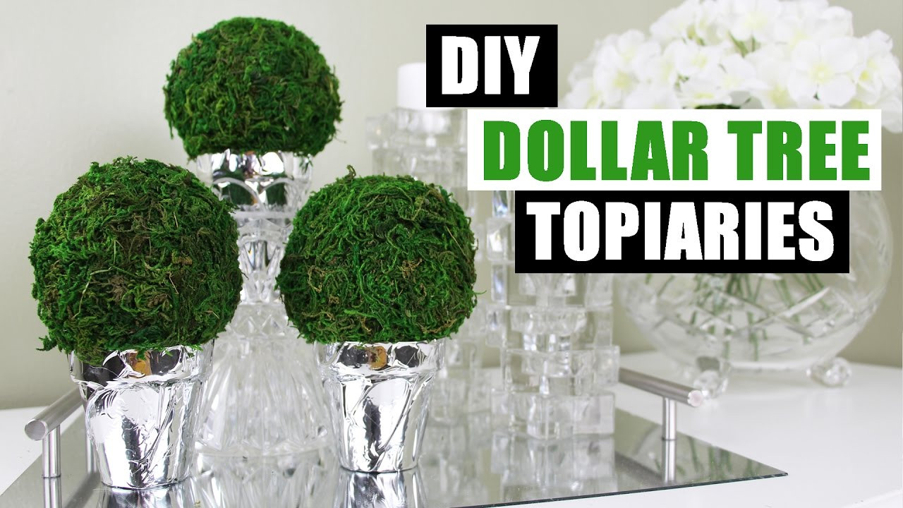 Best ideas about DIY Dollar Tree . Save or Pin DIY DOLLAR TREE TOPIARIES Now.