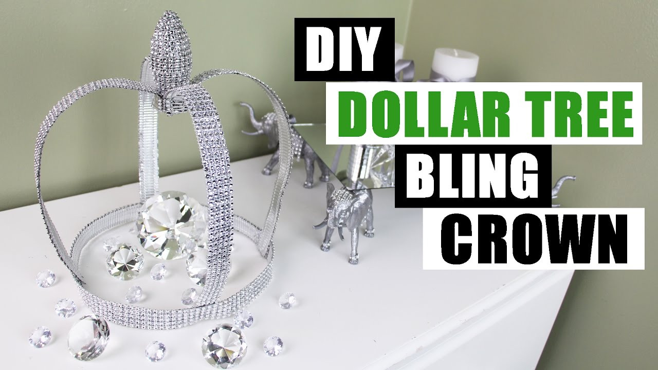 Best ideas about DIY Dollar Tree . Save or Pin DIY DOLLAR TREE BLING CROWN Now.