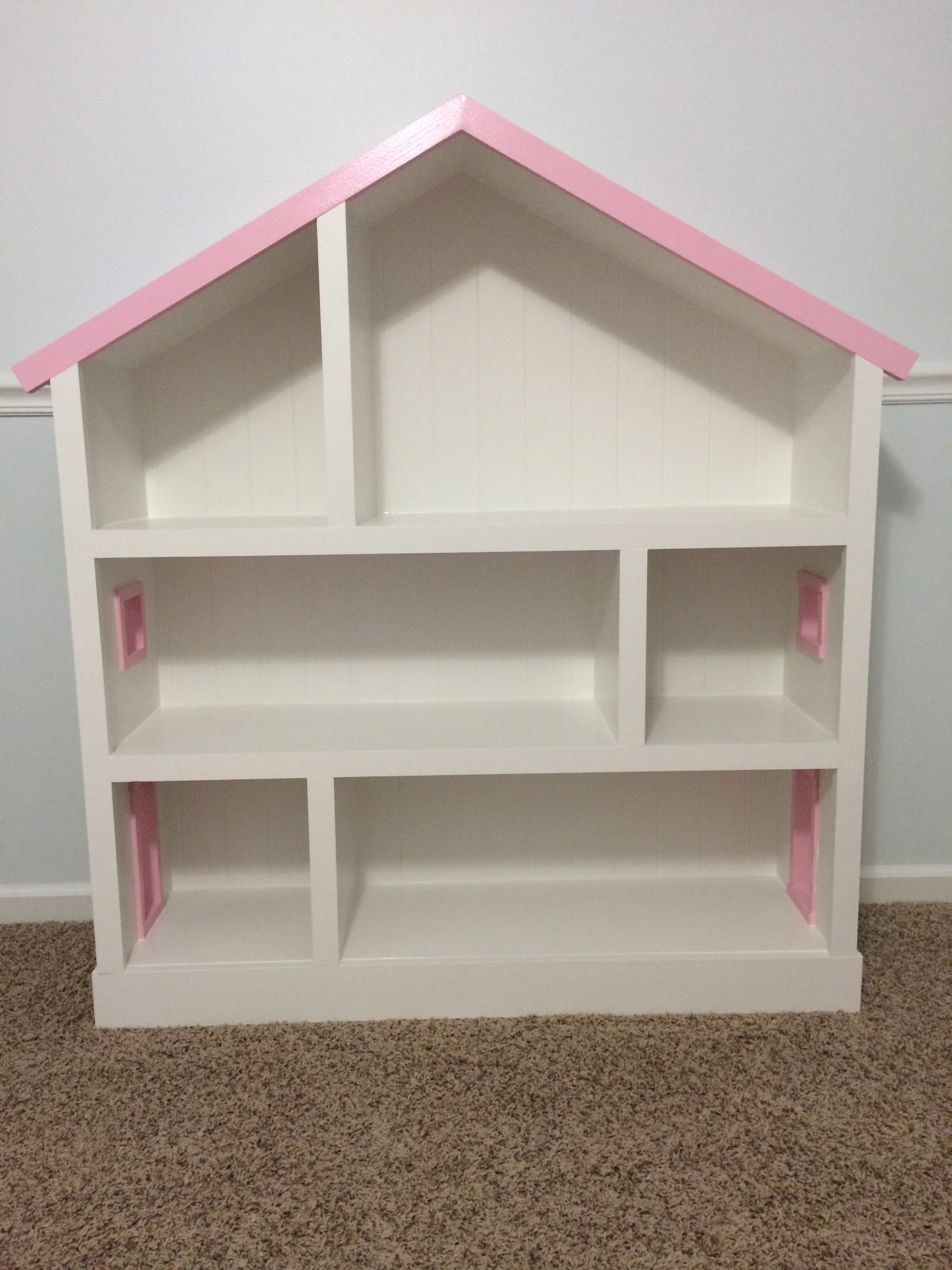 Best ideas about DIY Dollhouse Plans . Save or Pin 15 DIY Dollhouse Bookcase Plans Now.