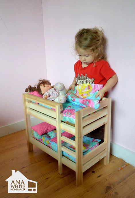 Best ideas about DIY Dolls Furniture . Save or Pin 1000 ideas about Doll Bunk Beds on Pinterest Now.