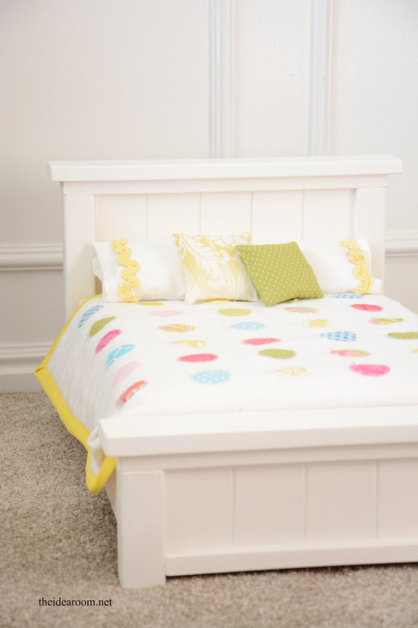 Best ideas about DIY Dolls Furniture . Save or Pin DIY Doll Bed The Idea Room Now.