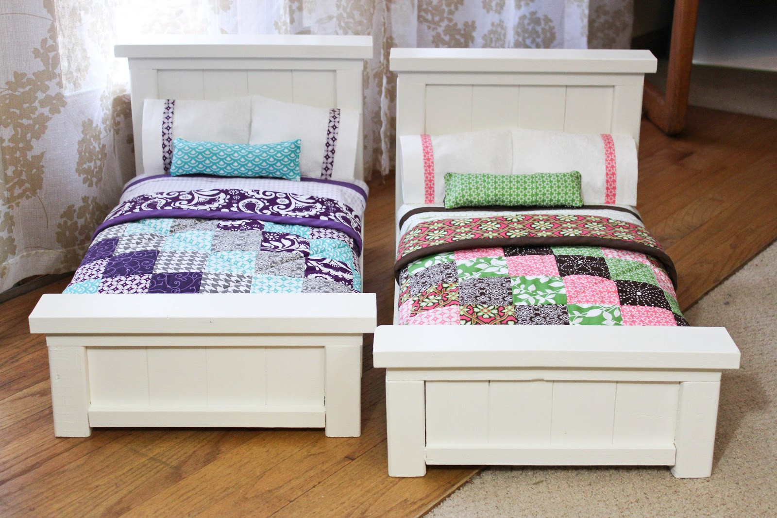 Best ideas about DIY Dolls Furniture . Save or Pin From Dahlias to Doxies DIY Doll Beds and Tiny Quilts Now.